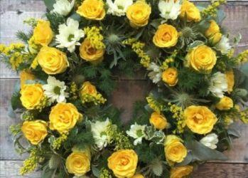 coroana funerara felice flowers
